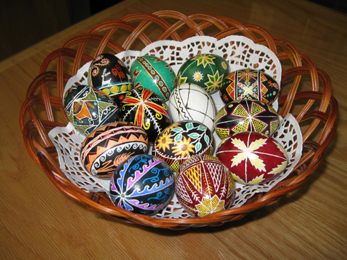 From pysanky to the Passion