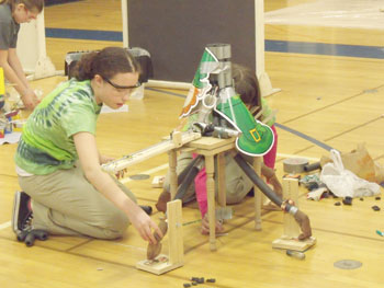 Bishop Ludden earns 10 medals at Science Olympiad Reginals