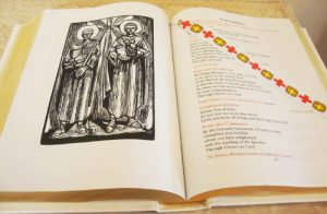 photo bish p 3 300x196 - VIEW OF NEW ENGLISH TRANSLATION OF ROMAN MISSAL PRESENTED TO POPE