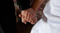 images cover photo just use hands 120x67 - GROOM, BRIDE HOLD HANDS ON THEIR WEDDING DAY