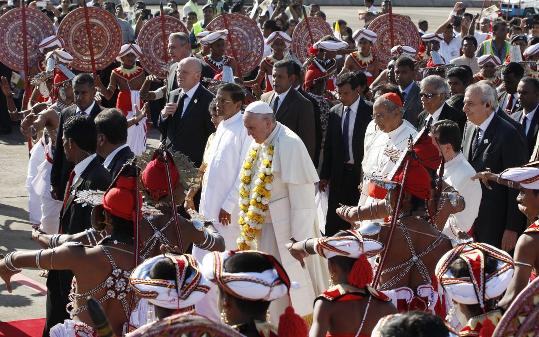 Pope to Sri Lankans: Reconciliation means dialogue, 'pursuit of truth'