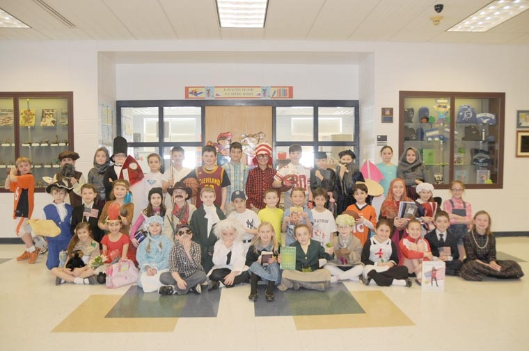 Students become famous figures to promote reading
