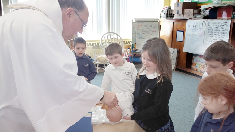 The seven sacraments Baptism