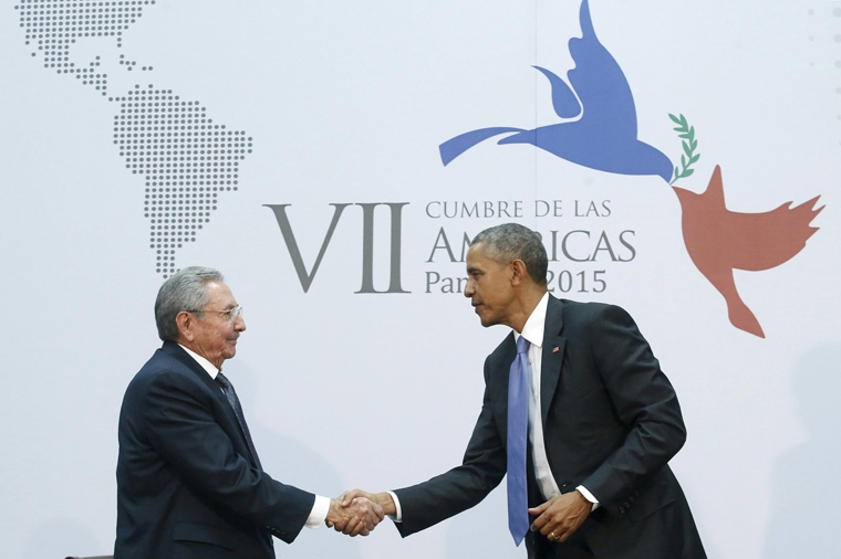Obama and Castro take next steps to normalize  U.S.-Cuba ties