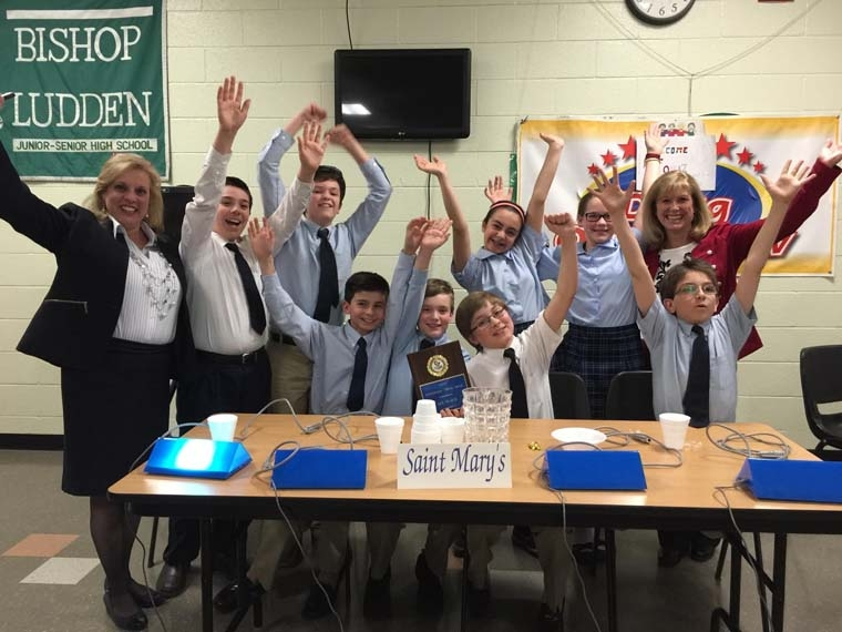 Students win diocesan competition