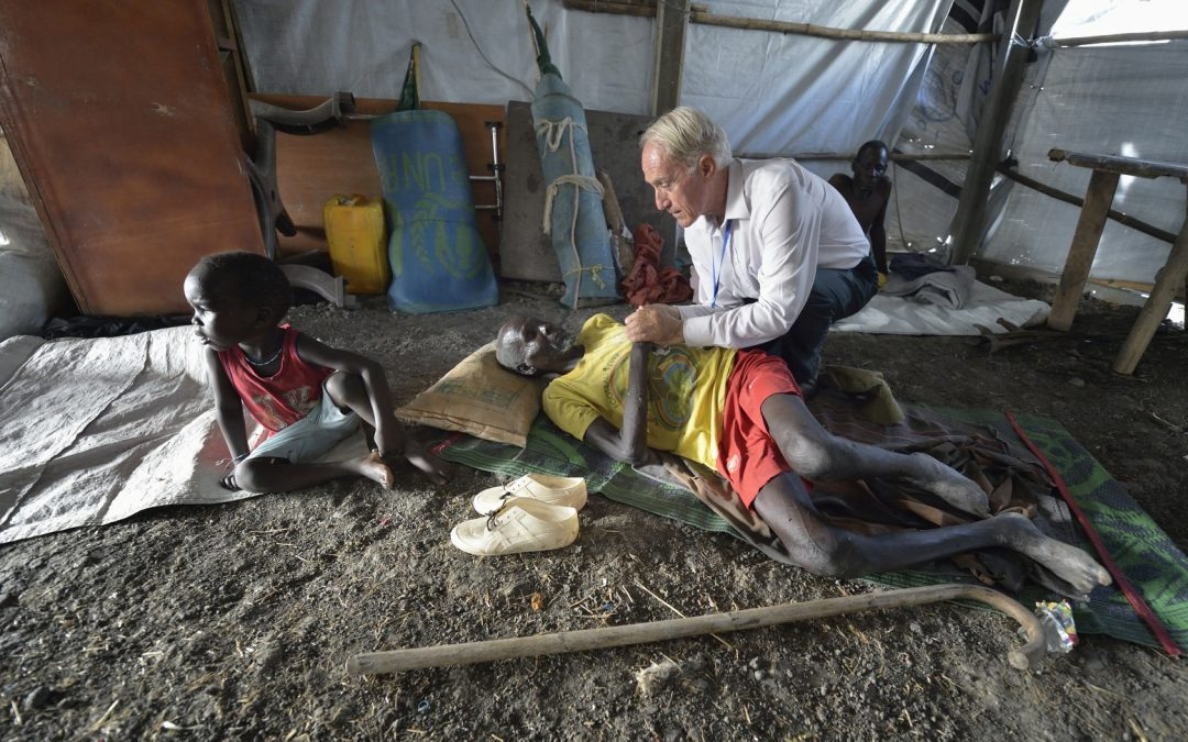 Priest from Binghamton now lives with 'suffering Christ' at U.N. base in South Sudan