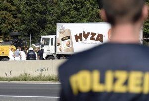 20150828cnsto0014 1 300x203 - Dead refugees in truck found in Austria