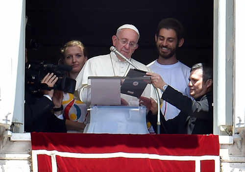 World Youth Day registration begins; pope is first person to sign up