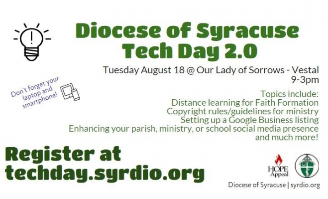 Tech Day 2.0 goes live Aug. 18