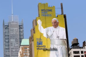 20150902cnsbr0344 1 300x200 - Large mural of Pope Francis seen in New York City