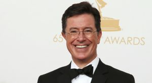 20150909cnsbr0521 e1441821726259 1 300x163 - Colbert poses with awards at 65th Emmy Awards in Los Angeles in 2013