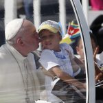 20150921cnsnw0190 1 150x150 - Jesus replaced law of revenge with law of love, pope says