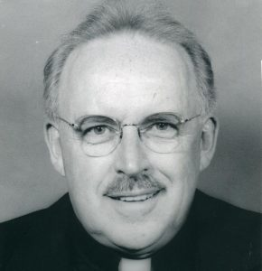 father wilfred evans 1 290x300 - Father Wilfred Evans. Photo Submitted