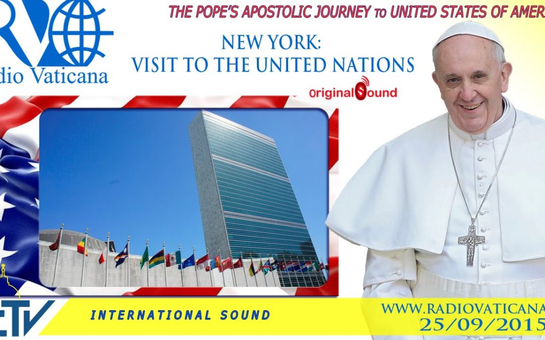 Watch live: Pope Francis addresses the U.N.
