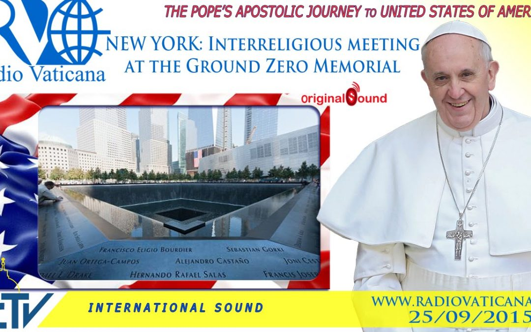 Watch live: Pope Francis at Ground Zero