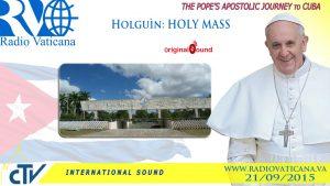 watch live pope francis celebrat1 1 300x169 - Watch live: Pope Francis celebrates Mass in Holguin's Revolution Square
