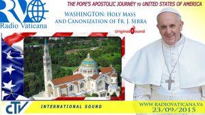 watch live pope francis celebrat3 1 300x169 - Watch live: Pope Francis celebrates Mass, canonizes Blessed Junipero Serra