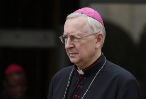 20151015cnsph0048 1 300x203 - Archbishop Stanislaw Gadecki leave session of Synod of Bishops on the family at Vatican