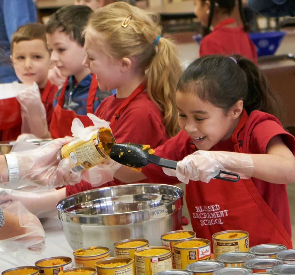 DSCF8222 1 1024x953 - Blessed Sacrament students have their eyes on the pies