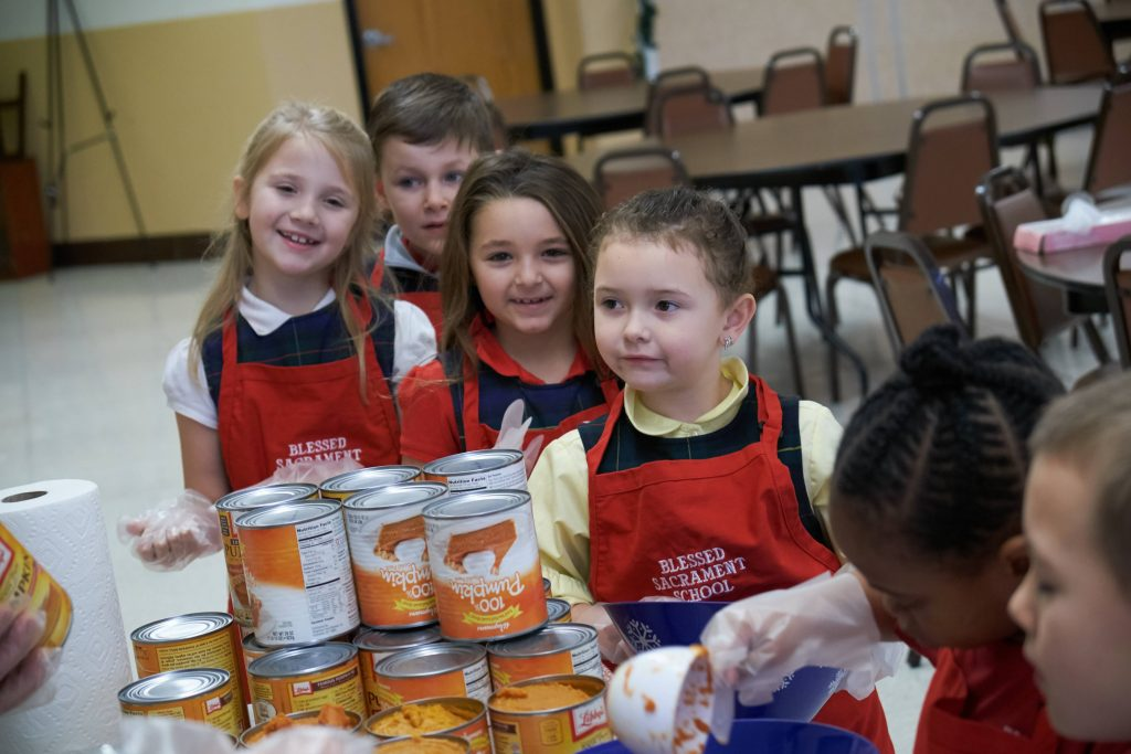 DSCF8408 1 1024x683 - Blessed Sacrament students have their eyes on the pies