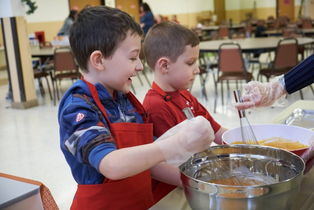 DSCF8489 1 1024x683 - Blessed Sacrament students have their eyes on the pies