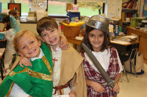 Immaculate Conception School celebrates All Saints Day