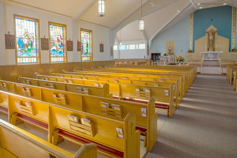 IN THE SPOTLIGHT:  Our Lady of Peace Church in Lakeland