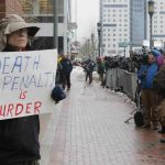 20150305cnsbr8401 150x150 - Man holds sign reading 'Death penalty is murder' outside trial of accused Boston Marathon bomber