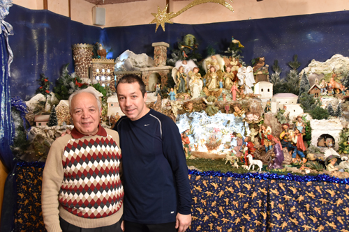 Nativity scene is family, restaurant tradition
