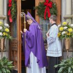cover photo  O7U0394 1 150x150 - Cathedral Holy Door sealed, will be opened Dec. 13