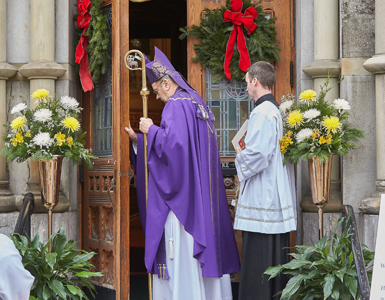 Door of Mercy opened  to all at Cathedral