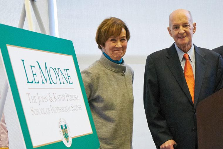 Alumni couple makes $6.5 million gift to Le Moyne