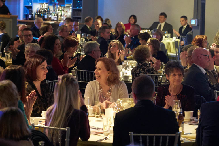 Longtime service leads the way at annual Catholic schools dinner