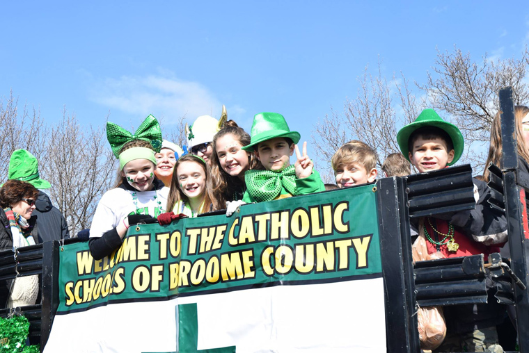 St. Patrick's Day celebrated around the diocese