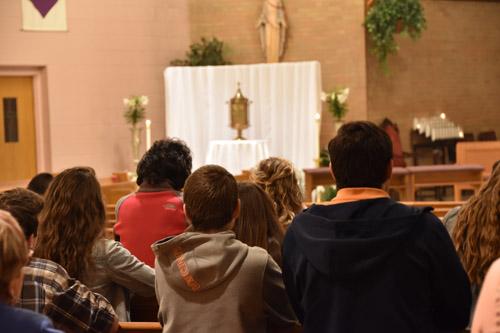 Holy Thursday 'church hopping' with IHM & SJW