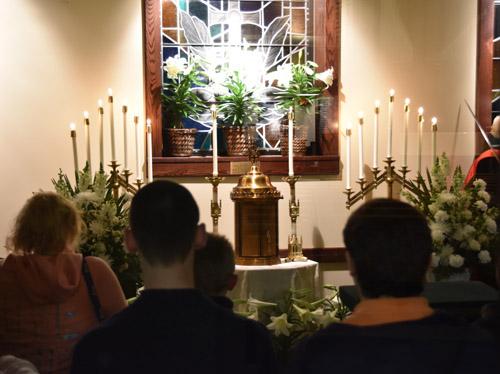 Make a virtual Holy Thursday visitation pilgrimage tonight