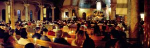 Holy Saturday 2 Utica Candle panorama Mt Carmel Blessed Sacrament 300x97 - SONY DSC