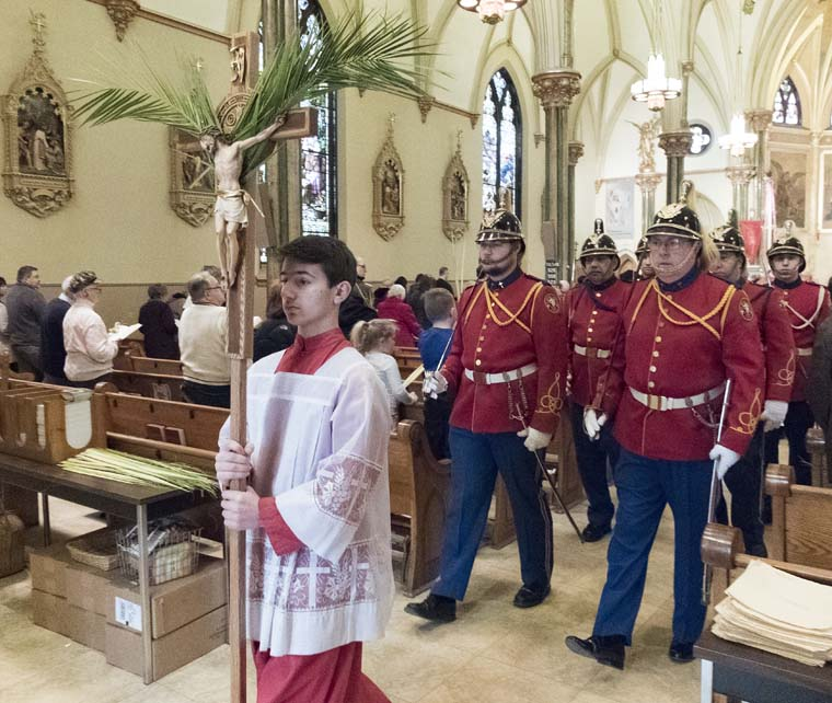 Holy Week across the diocese