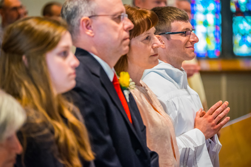 'A minister of charity and a servant of love':  Seminarian Matthew Lyons ordained to the transitional diaconate