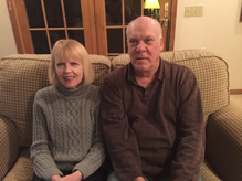 Maureen and John Falge1 1 - Diaconate class poised  for journey of humility and joy