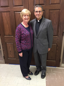 Peter and Judy Hobaica 1 - Diaconate class poised  for journey of humility and joy