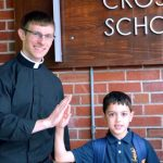 page 7 Matt Lyons in school 008 1 150x150 - 'A minister of charity and a servant of love':  Seminarian Matthew Lyons ordained to the transitional diaconate