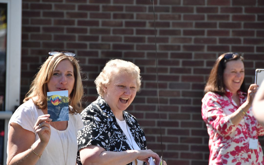 Students, staff of Holy Family celebrate principal's jubilee