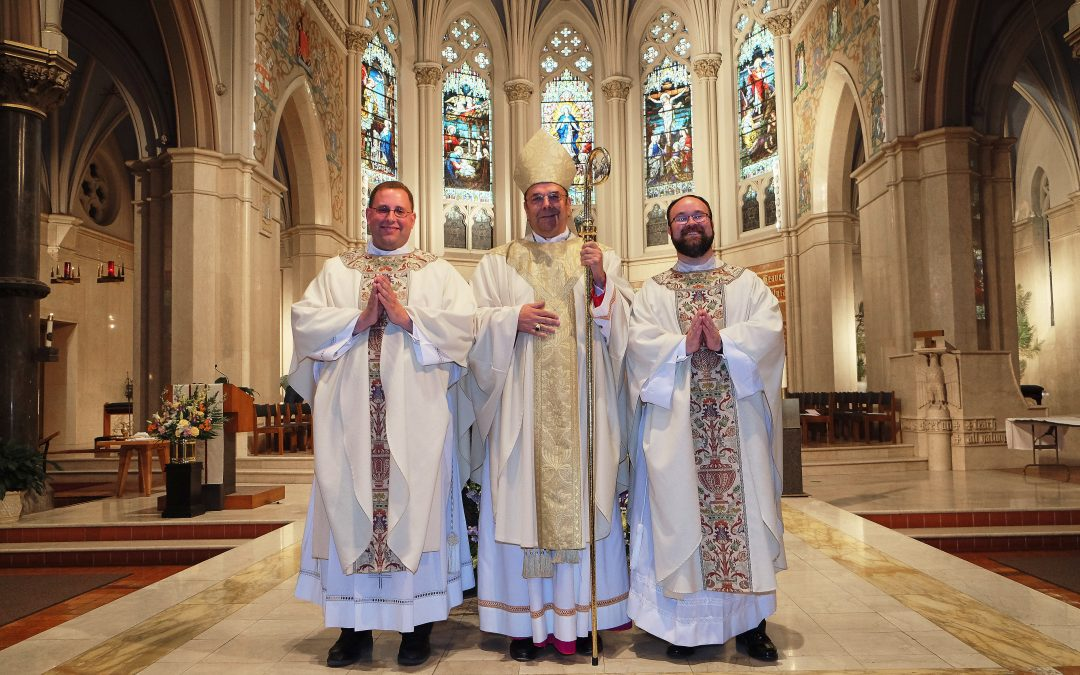 Father Kenneth Kirkman and Father Peter Tassini, Jr. ordained to the priesthood