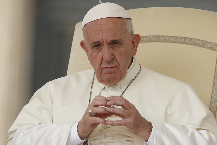 Church needs religious orders' courage, witness, pope tells superiors