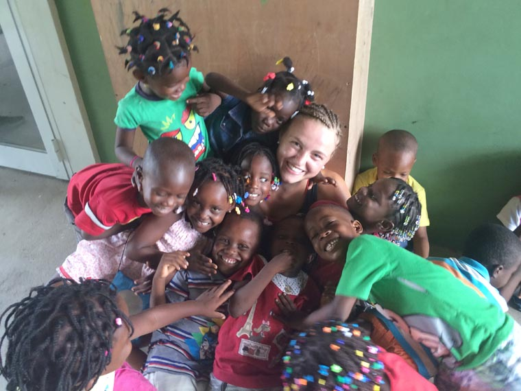 Brianna Smith serves  'poorest of the poor'