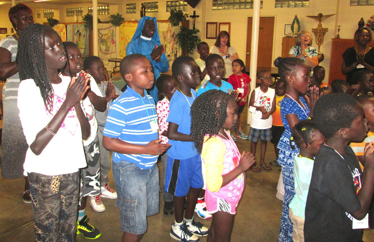 Vacation Bible School dramatizes mercy, forgiveness