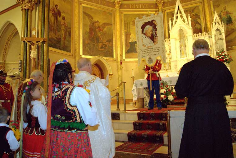 St. John Paull II's feast day celebrated in Utica parish