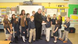Education endowment established in monsignor's name aims to help 'God's kids'
