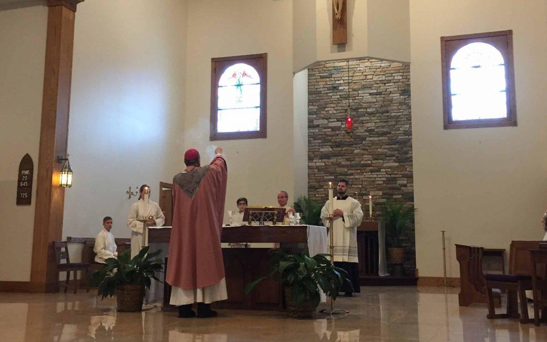 Parish spotlight: Our Lady of Sorrows Church, Vestal